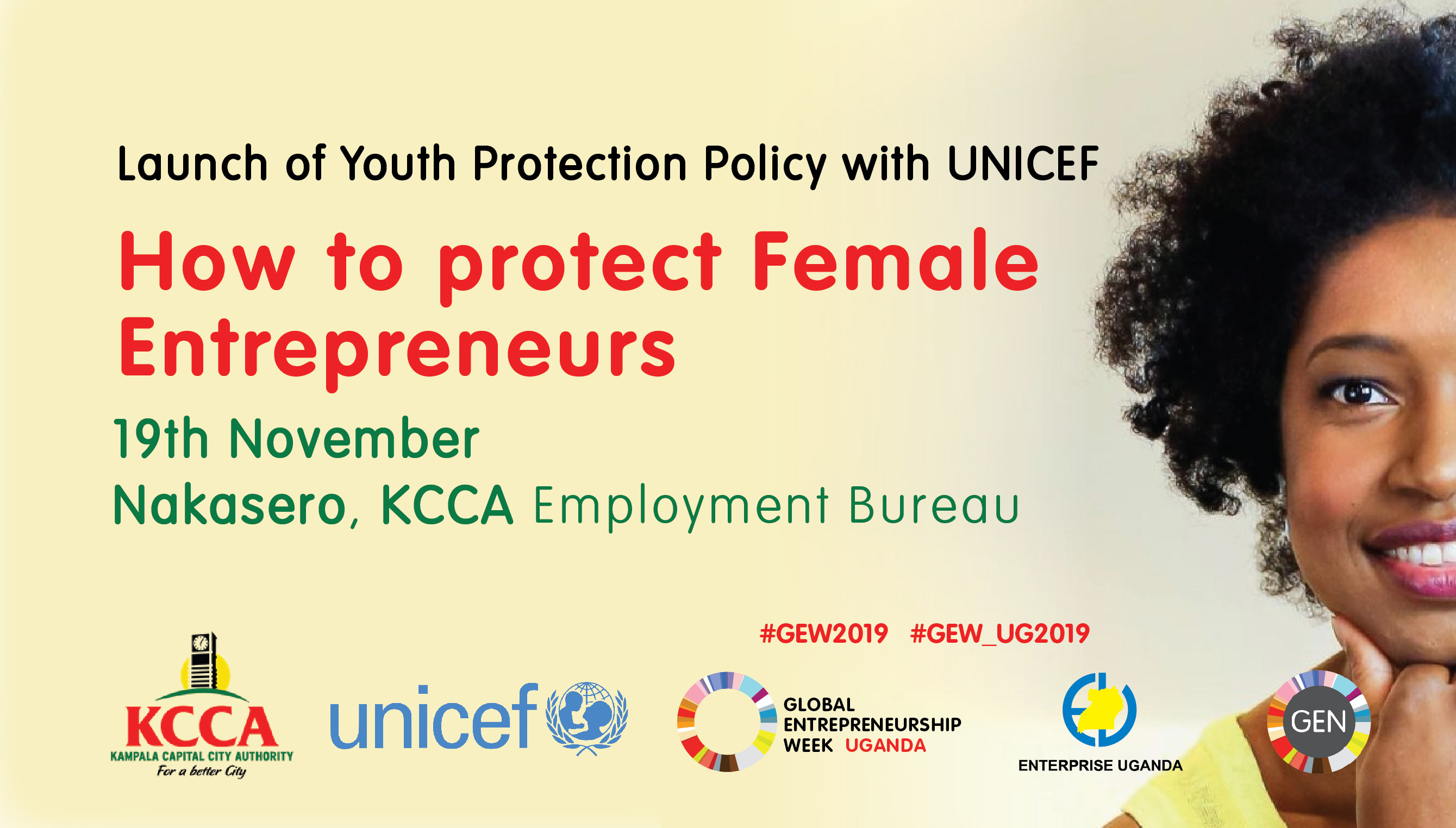 KCCA UGANDA & UNICEF (GEW2019)
