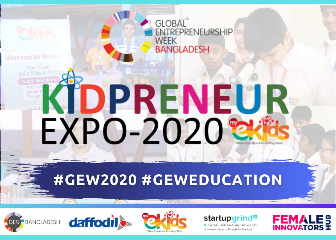 Kidpreneur Expo- 2020 | #GENeducation