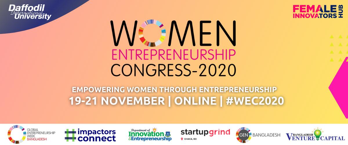 Women Entrepreneurship Congress- 2020