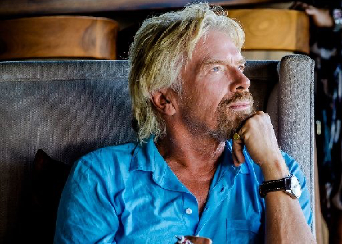 Richard Branson Shares Message of Hope