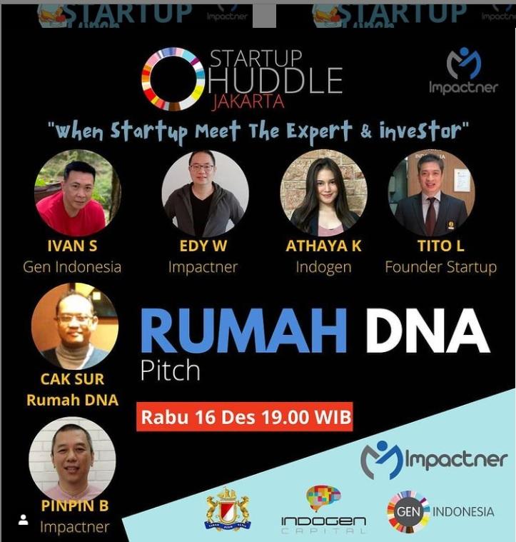Startup Rumah DNA