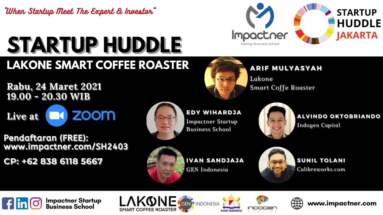 Startup Lakone Smart Coffee Roaster