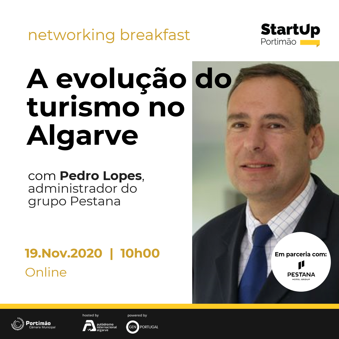 Networking Breakfast - The Evolution of Tourism in Algarve