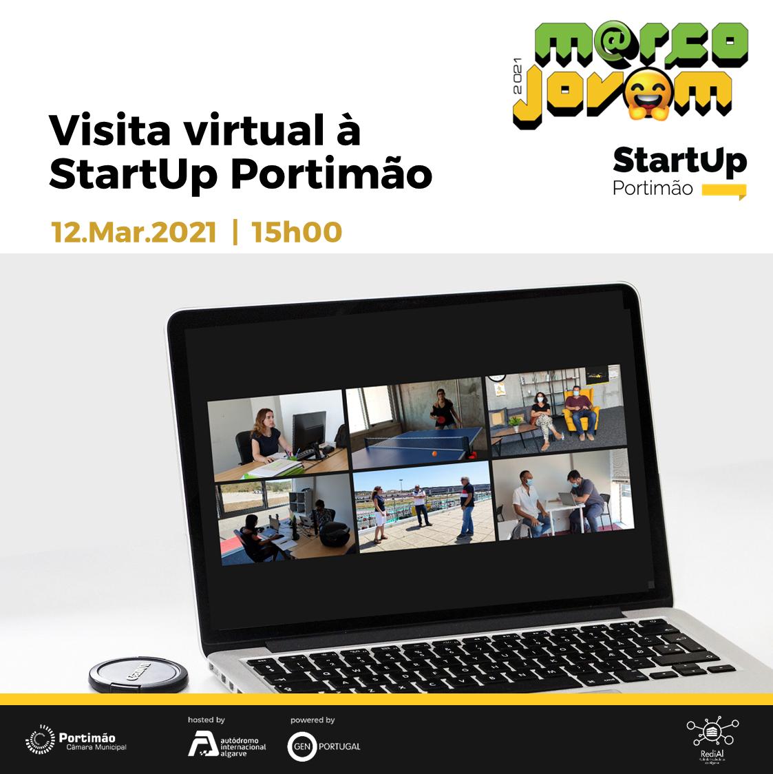 Virtual Tour of StartUp Portimão