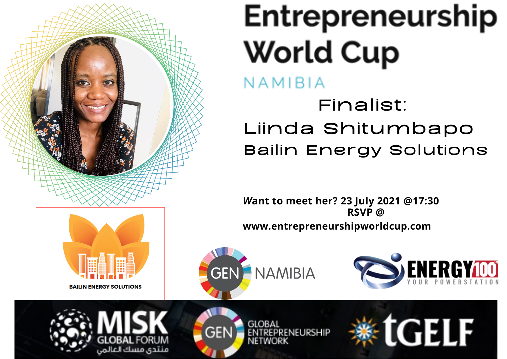 Linda Shitumbapo, Bailin Energy