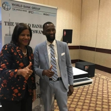 Marie-Francoise Marie-Nelly, World Bank Regional Director for the SACU Countries