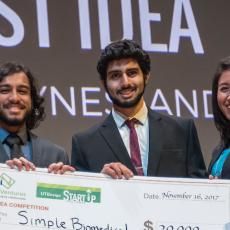 The University of Texas at Dallas' Big Idea Competition (BIC) 2017