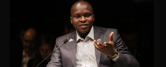 Chadian Minister of Youth + Sport Christian Ndonga