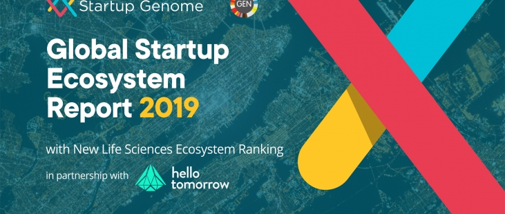 Global Startup Ecosystem Report Cover