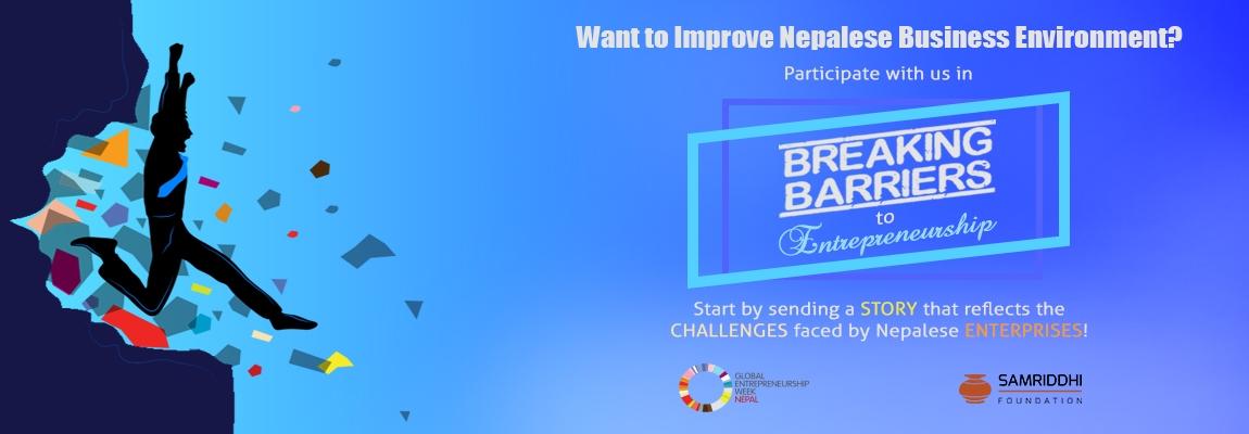 Breaking Barriers to Entrepreneurship