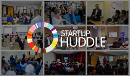 Collage of Startup Huddle chapters around the world