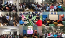 Setting a new record GEN Egypt ends 2018 with 14 Startup Huddle events!